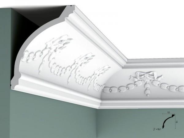 Zierleiste Orac Decor Eckleiste Stuckleiste Profilleiste Stuckdekor Decken Wand Leiste c218